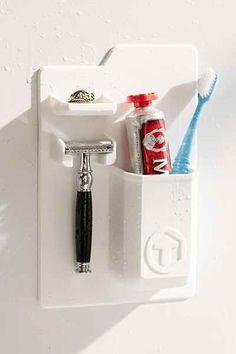 Tooletries Mighty Toothbrush + Razor Holder