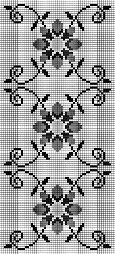 Crochet Lace Edging, Crochet Cross, Funny Cross Stitch Patterns, Cross Stitch Designs, Embroidery Patterns, Hand Embroidery, Cross Stitch Landscape, Tapestry Crochet, Modern Cross Stitch