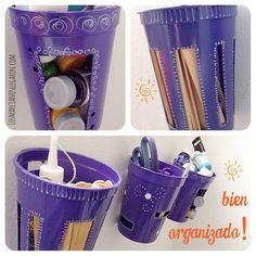 transforma-envases-de-plastico-en-organizadores-de-materiales