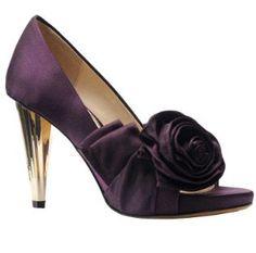 dark purple bridal shoes - Google Search