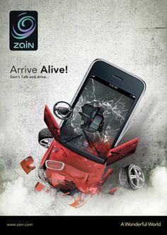 Arrive alive! Prévention routière.