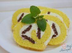 Nadýchaná roláda s marmeládou hotová za 15 minut Rolls, Sugar, Cookies, Cake, Food, Petra, Fitness, Hampers, Biscuits