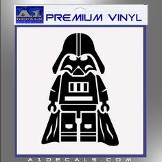 Items similar to Lego Darth Vader Vinyl Decal Sticker on Etsy Darth Vader Images, Darth Vader Lego, Star Wars Minifigures, Lego Star Wars, Silhouette Portrait, Silhouette Studio, Silhouette Cameo, Lego Valentines, Scrap