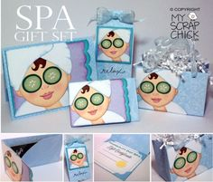Paper Piecing Patterns & Digi Stamps for Scrapbook, Card & Tag Embellishments