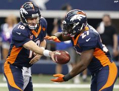 QB Peyton Manning and RB Knowshon Moreno are both up for Fed Ex Player of the Week Awards.