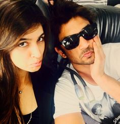 Why are Kriti Sanon and Sushant Singh Rajput upset?  view pic!