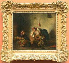 Jewish musicians in Morocco - Eugene Delacroix