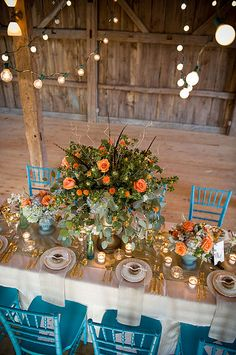 TSE Event Photos 155 by Rentals Unlimited, via Flickr  Always loved the Lightbulb lighting in a barn! Makes me wanna dance!