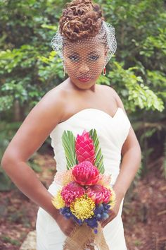 Munaluchi Bride Magazine | Natural Hair Bride | Styled Shoot