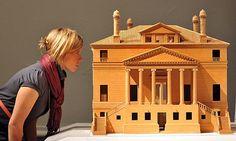 A model of the Villa Foscari (La Malcontenta) at the Royal Academy's Andrea Palladio exhibition. Photograph: Nils Jorgensen/Rex Features