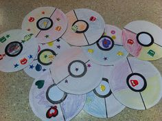 pre-make the poke balls before the party, let the kids decorate them during the party