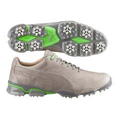 EXCLUSIVE Puma TitanTour Ignite Premium Golf Shoes Drizzle
