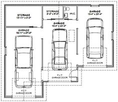 Garage Dimensions Google Search Andrew Garage Pinterest