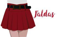 Magazine Feed #Faldas Cheer Skirts, Magazine, Fashion, Skirts, Clothing, Moda, Fashion Styles, Magazines, Fashion Illustrations
