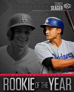 Corey Seager unanimously wins N.L. Rookie of the Year.