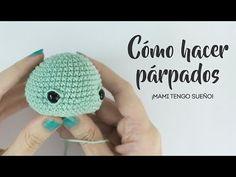 How to make eyelids in amigurumi - Eyes in amigurumi or crochet - Amigurumi Tutorial, Crochet Patterns Amigurumi, Crochet Dolls, Love Crochet, Knit Crochet, Crochet Hats, Japanese Crochet, Amigurumi Toys, Custom Dolls