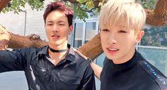 Shawnu and Wonho