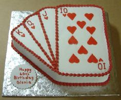 Cake for Casino Party Las Vegas Party, Casino Night Party, Casino Party Decorations, Casino Theme Parties, 30th Party, 50th Birthday Party, Game Night Parties, Vegas Birthday, Poker Party