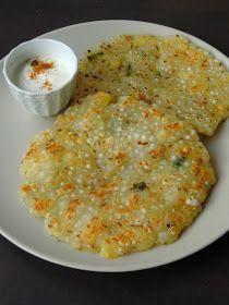 South Indian Breakfast Recipes, Healthy Indian Recipes, Indian Dessert Recipes, Vegetarian Recipes, Cooking Recipes, Indian Snacks, Idli Batter Recipes, Sago Recipes, Sabudana Recipes