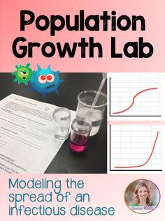 Population growth lab for your ecology unit! Students will model the spread of an infectious disease and understand limiting factors. Biology Classroom, Biology Teacher, Science Biology, Teaching Biology, Science Education, Life Science, Ap Biology, Forensic Science, Higher Education