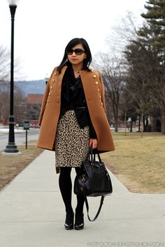 Fast Food & Fast Fashion | a personal style blog: The February Challenge: Day 12 : Black Leopard