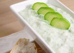 Easy Cucumber Yogurt Tzatziki Recipe - HEALTHY RECIPES