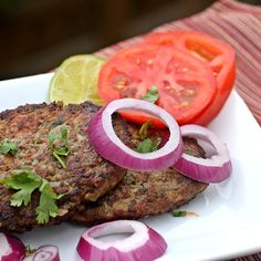 Chapli Kababs – Flat and Spicy Ground Chicken Kababs