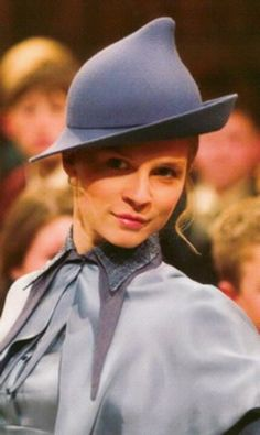 Fleur Delacour, I wanted to post this picture to say in French class each year we have to choose a French name. Mine is Fleur because of Harry Potter and Fleur Delacour.