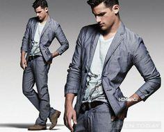 Casual khỏe khoắn của Armani Jeans SS 2012
