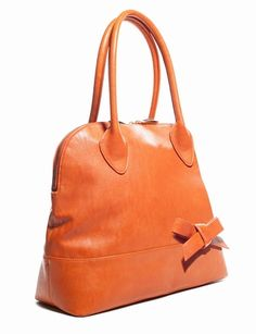 Bow Accent Satchel from eloquii.com