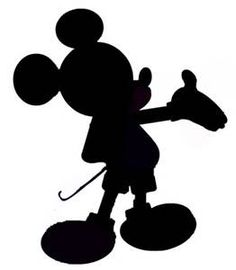 41 Best Mickey Silhouette Images On Pinterest Disney Silhouettes