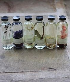 wedding favors - Homemade Essential Oils / Wedding Style Inspiration / LANE