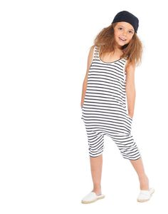 Striped All-in-one - Yporqué - Kinderkleding online - Goldfish.be
