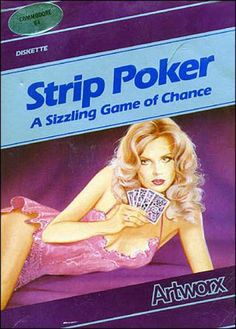Strip Poker: A Sizzling Game of Chance Retro Arcade, Retro Gamer, Pulp Fiction Comics, Poker Bonus, Computer Video Games, Vintage Video Games, Good Old Times, Games Box, Mega Man