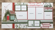 Beary Christmas 14 Page Workshop With Consultant Guide Option So exited about BEARY CHRISTMAS! I love all the little extras and you wi. Scrapbook Templates, Scrapbook Sketches, Scrapbook Page Layouts, Scrapbook Paper Crafts, Scrapbook Cards, Paper Crafting, Scrapbooking Ideas, Scrapbook Christmas Cards, Scrapbook Generation