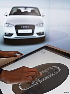 Audi′s interactive showroom ′brand experience′ | Sci-Tech | DW.COM ...