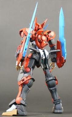 HG 1/100 Gundam Astraea - Custom Build - Gundam Kits Collection News and Reviews