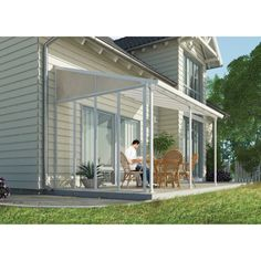Palram 3-Series Patio Cover Side Wall
