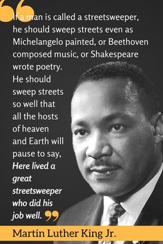 Hard Work Quotes Martin Luther King Jr. Quote - Inspirational quotes - Work quotes - Hard work quotes