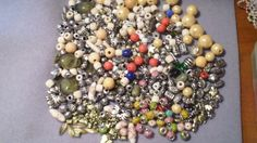 Bunches of Beads & Some Charms