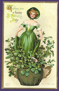 1911 St. Patrick's Day postcard (Clapsaddle)
