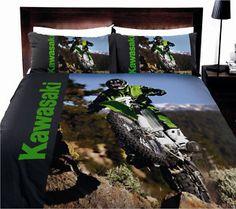 Motocross bedding queen size.