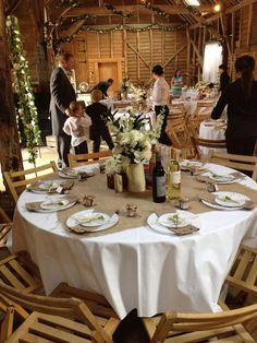 rustic ideas for round wedding tables - Google Search