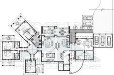 house floor plans with guest house | Ground floor plan