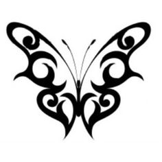 Tattoos: Black Butterfly Tattoo Designs_Thousands of Free Tattoo Designs and Outlines