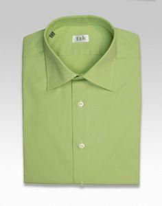 Camisa verde lima de algodón para hombre, Lime Green Cotton, Camisa verd llima de cotó Shirt 55€. #shirt, #camisa, #green, #verde