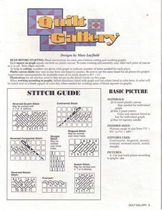 QUILT GALLERY PG 2