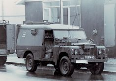 Armorama :: A Rainy Day in Belfast - Landrover VPK Piglet