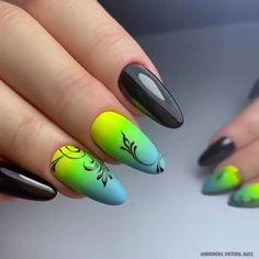 Are your nails looking somewhat boring and exhausting? Trendy Nails, Cute Nails, Nail Art Arabesque, Manicure, Watermelon Nails, Nail Design Video, Nail Art Videos, Neon Nails, Pink Nail