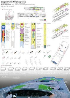 DIAGRAMMATIC METAMORPHOSES: Group5 (sec33) / Site Analysis + Yokohama Port Terminal (FOA) / May Khalifeh - Joy Salameh - Mohamad Berry